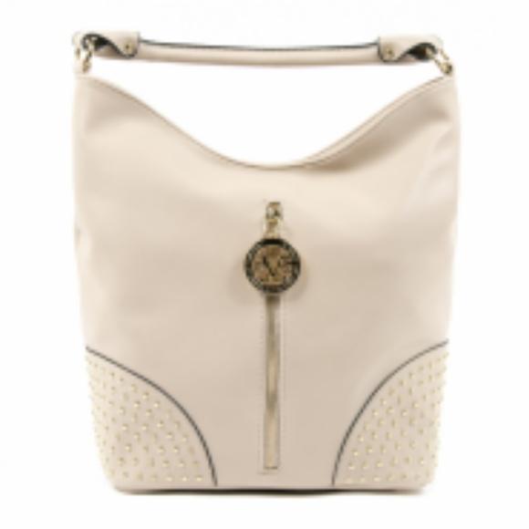 8c70247f34 Versace 19.69 V Italia Bags | Womens Beige Sandra Handbag By Versace ...